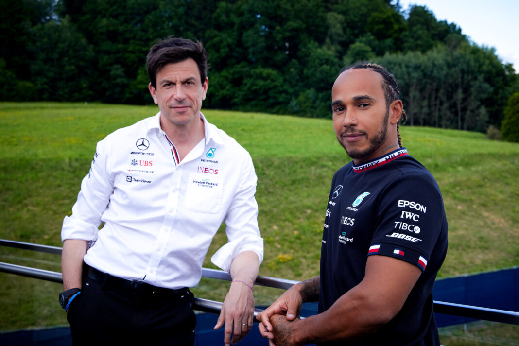 Mercedes and Lewis agree two-year contract extension