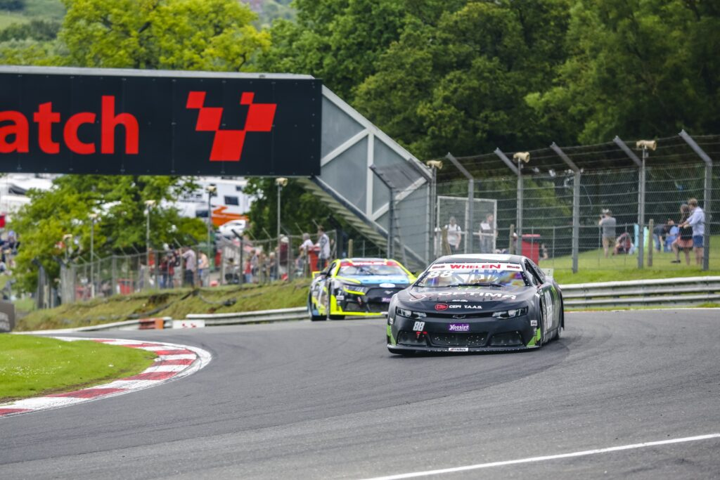Alon Day scores his 25th EuroNASCAR PRO career win in Brands Hatch