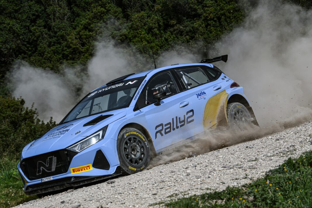Hyundai Motorsport deliver first i20 N Rally2 ahead of Ypres Rally Belgium debut