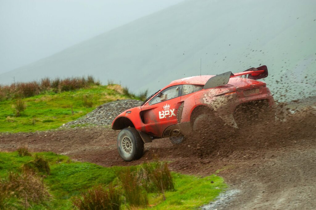 Prodrive hunter first to run on sustainable fuel